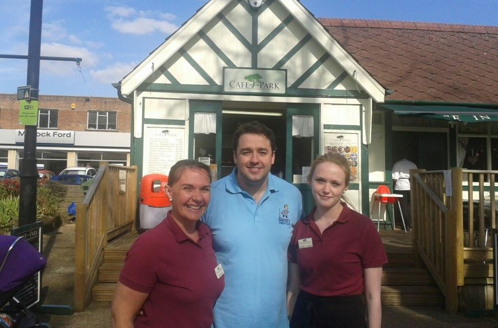 Jason Manford joins us for lunch